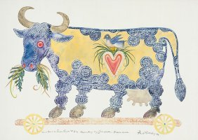22: Ford Ruthling (b.1933), Cows Have an Inner Light