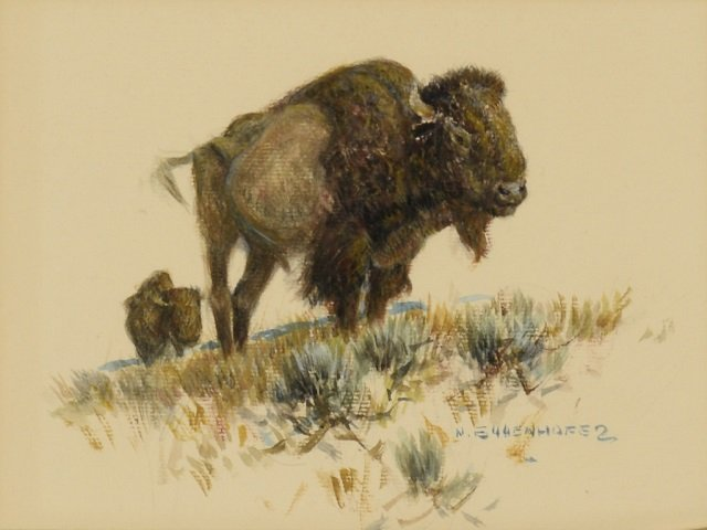 NICK EGGENHOFER ,  Bison