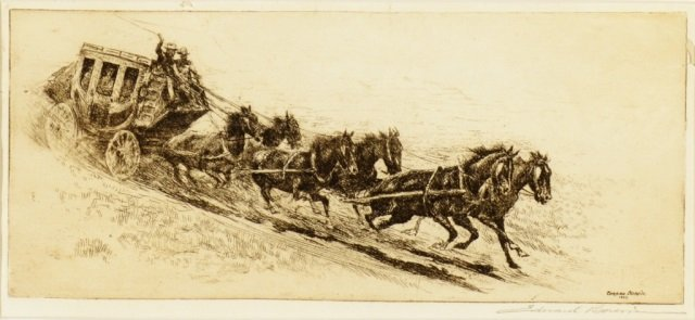 EDWARD BOREIN ,  Overland Mail , 1922