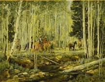 FREMONT ELLIS ,  Through the Aspens , 1927