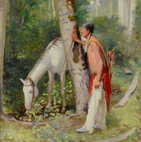 BERT PHILLIPS ,  Indian Hunter