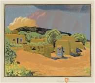 Gustave Baumann , Summer Rain