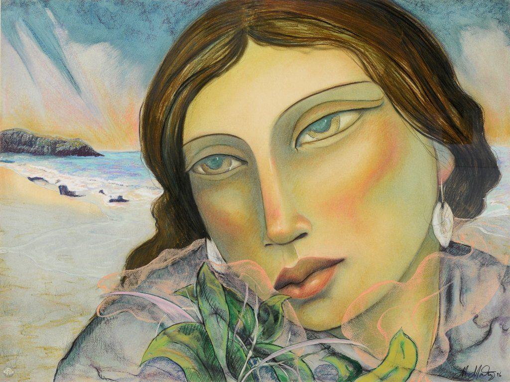 Miguel Martinez , Untitled (Portrait of a Woman)