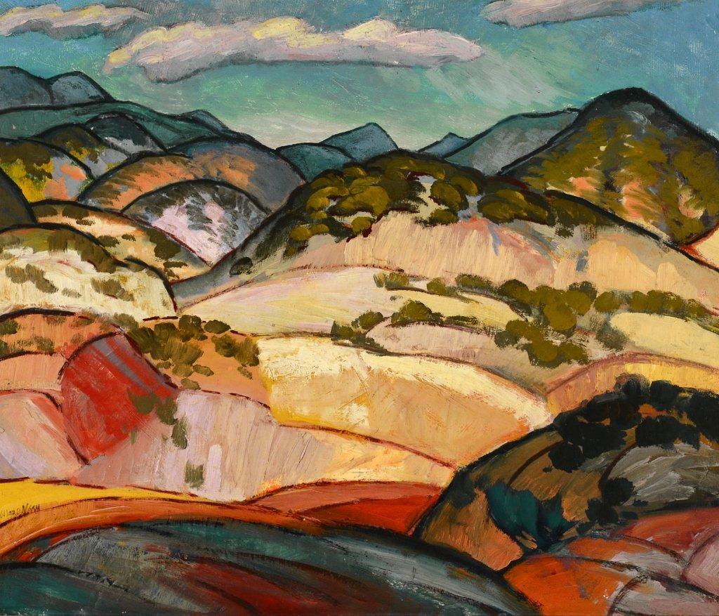 Willard Nash ,  Santa Fe Landscape
