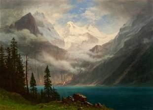 Albert Bierstadt (1830-1902), Mountain Scene, ca. 1870s