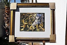 """Authentic """"Bacchanale"""" - Picasso - Limited Edition"""