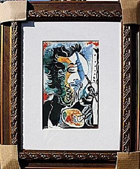 """Authentic """"The Artist"""" - Picasso - Limited Edition"""