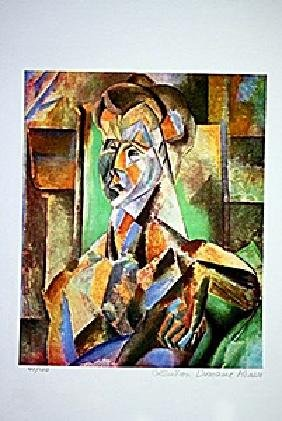 Picasso Limited Edition - Seated Woman - from