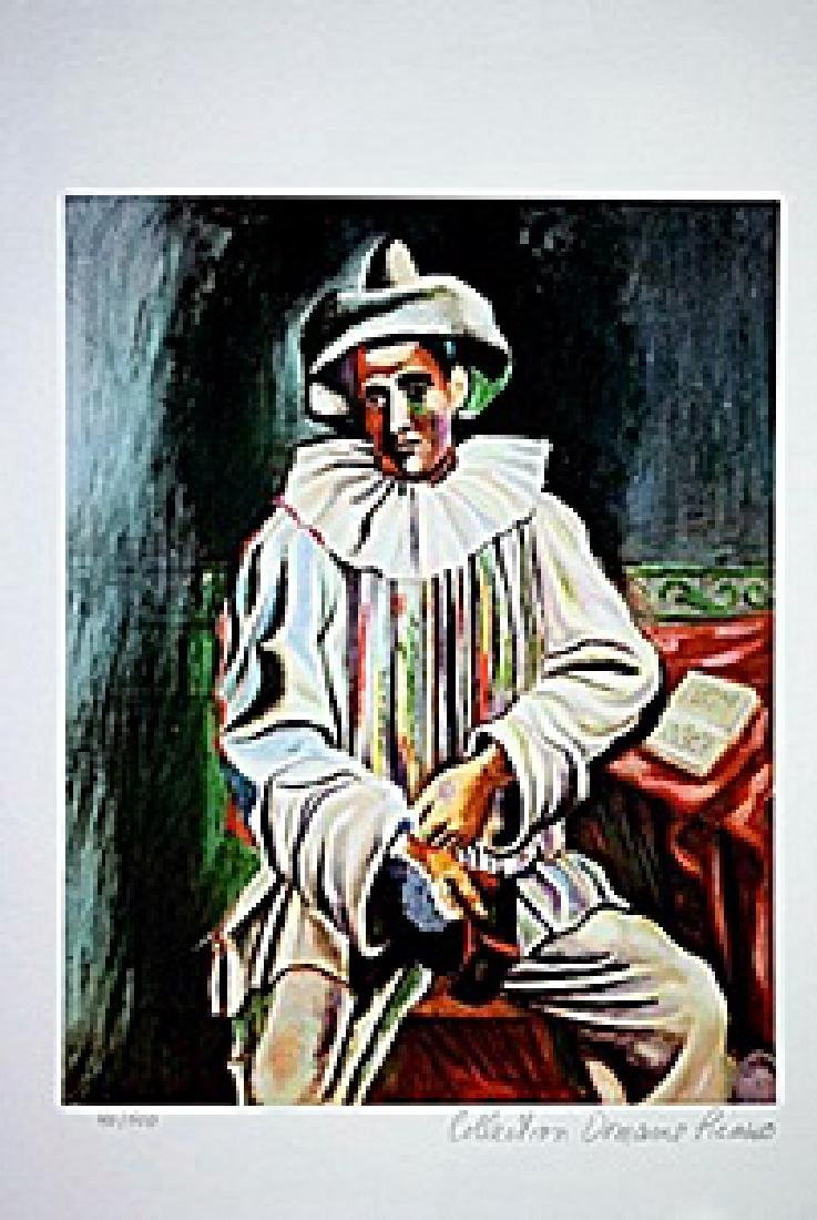 Picasso Limited Edition - Pierrot Sitting - from