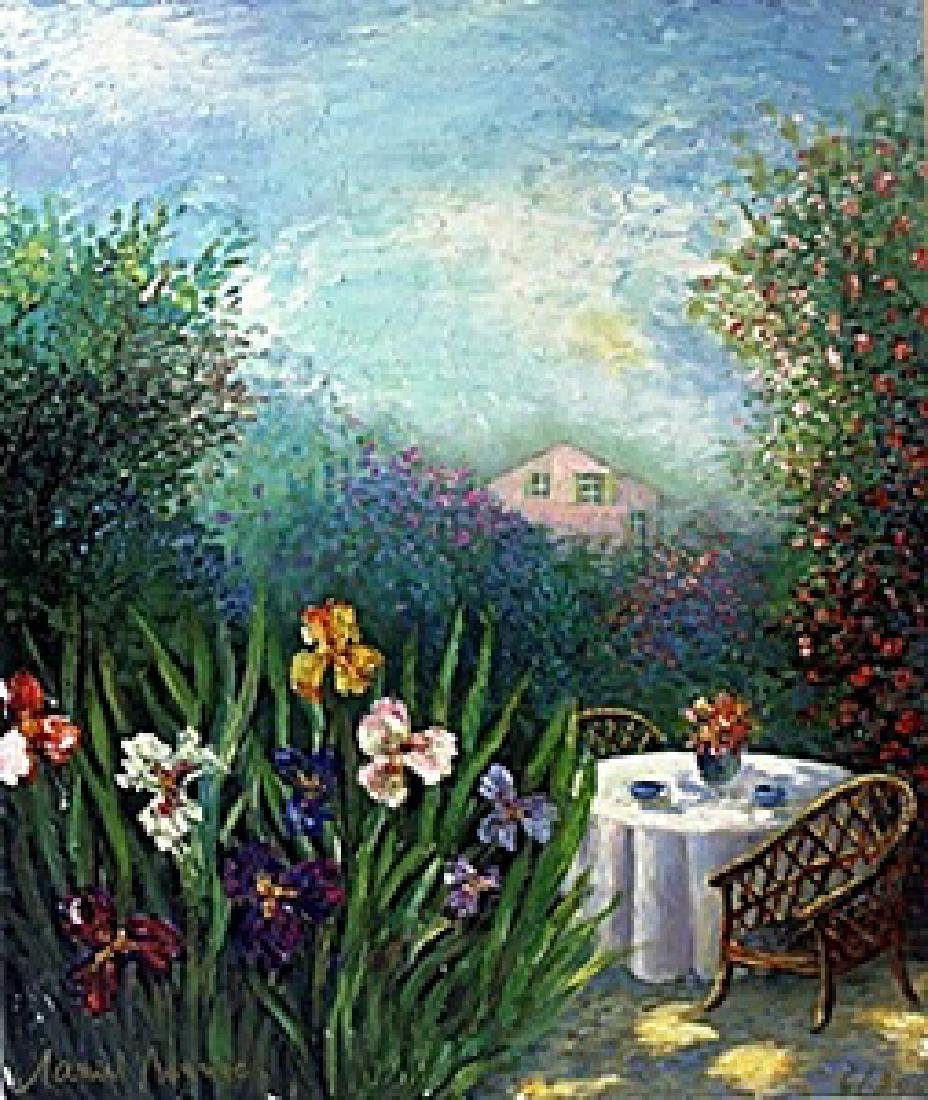 "Giclee ""Garden of Happiness""  Alain Bonnec"