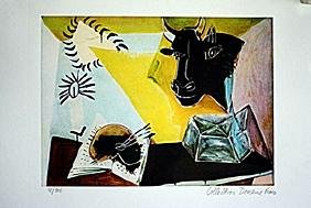 Picasso Limited Edition - Still Life Beast and Palette