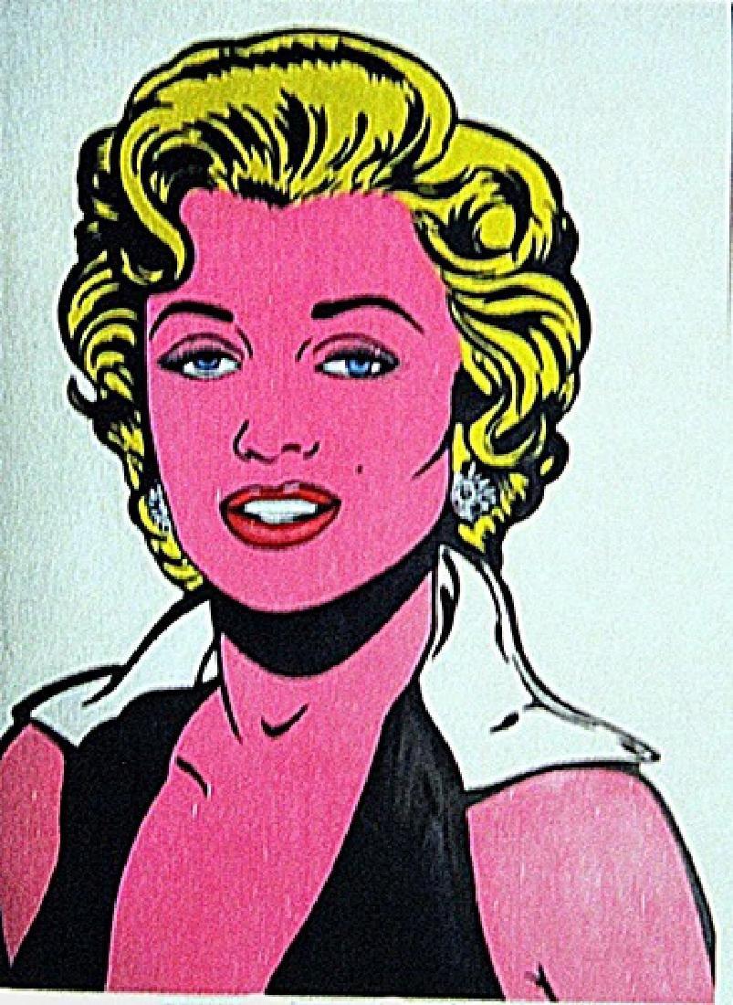 Roy Lichtenstein   - Marilyn Monroe