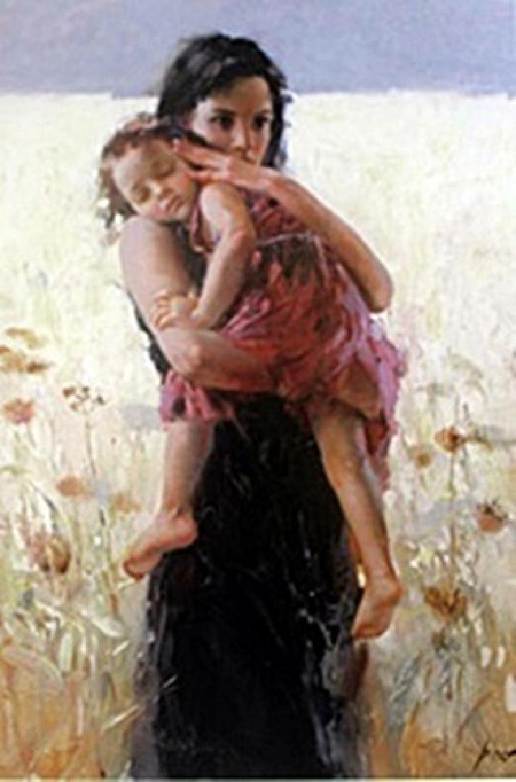"""Authentic Giclee on Paper """"Maternal Instincts""""  Pino"""