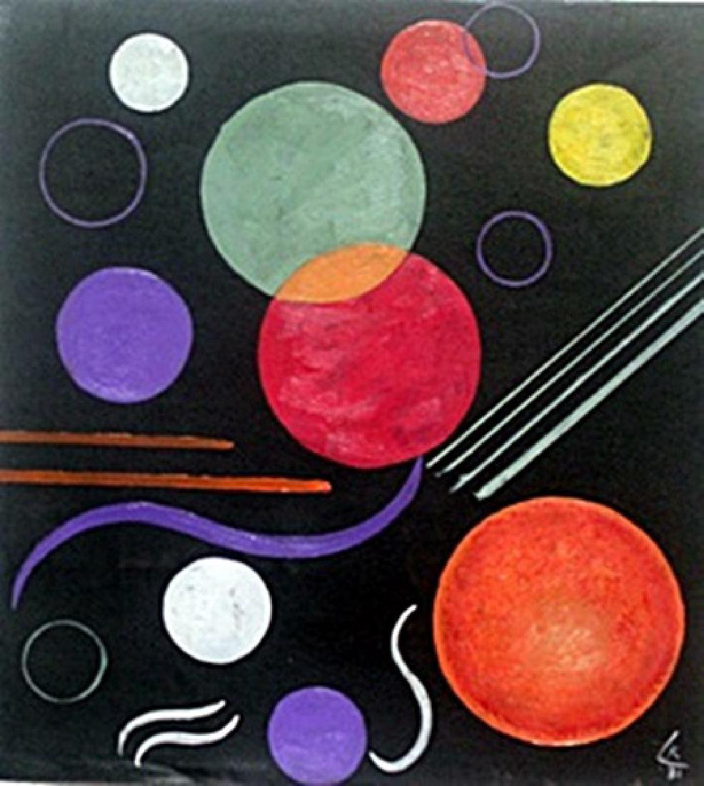 Oil Painting  Wassily Kandinsky