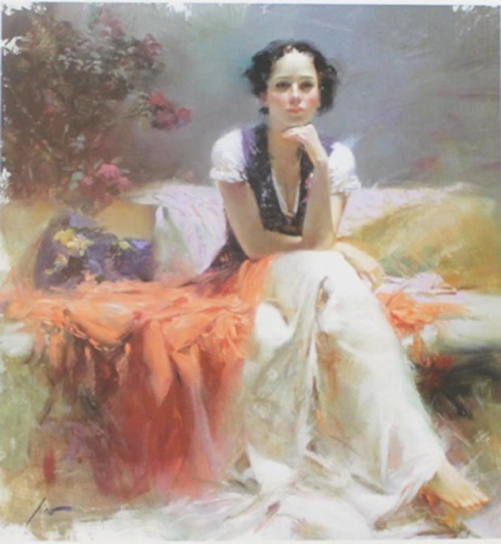 """Giclee on Paper """"First Glance""""  Pino (45ZI)"""