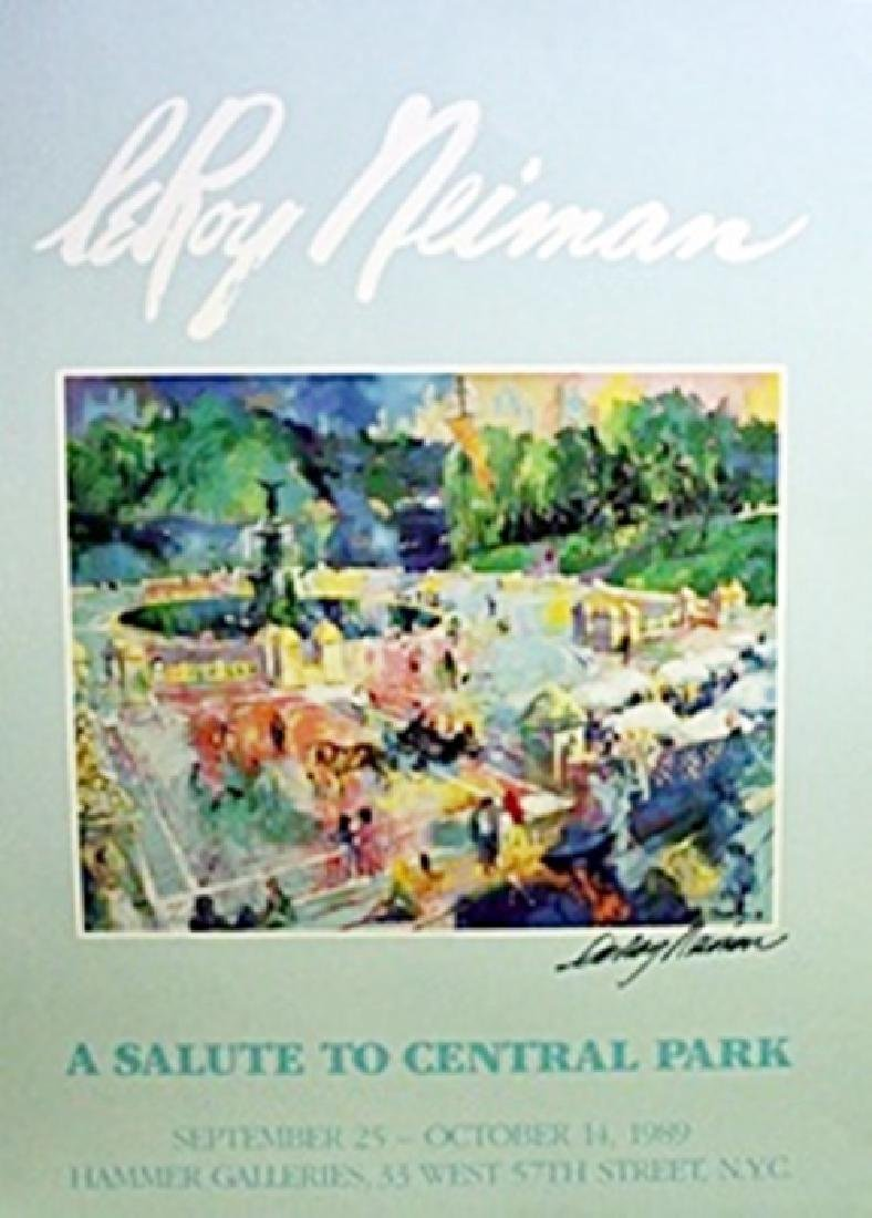 A Salute to Central Park - LeRoy Neiman
