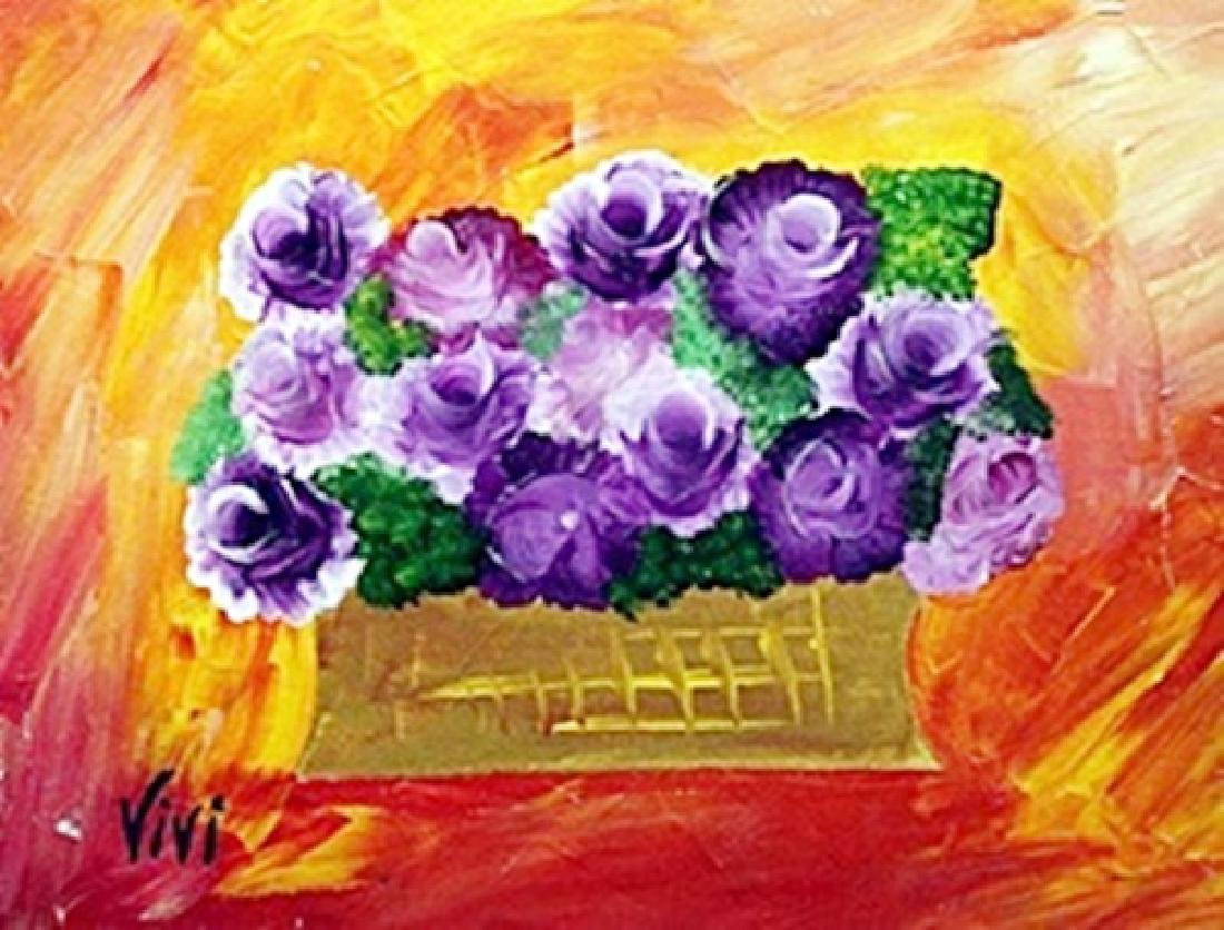 Oil on Canvas   Vivi Crandall