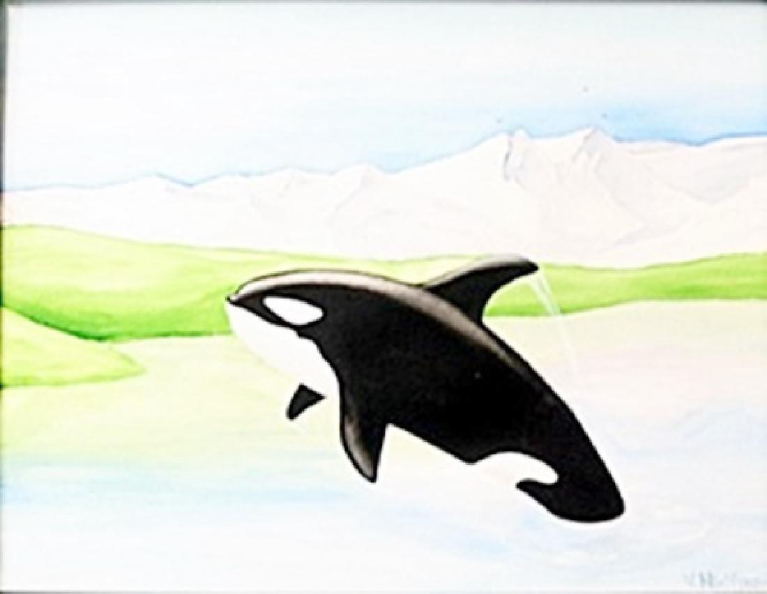 Watercolor on Paper  Vera Nikiforov
