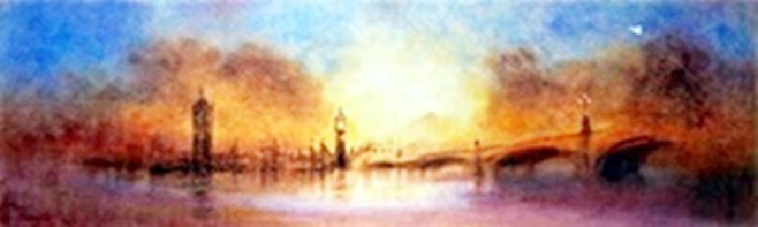 """Giclee """"Westminister Bridge""""  Terry Donnelly"""