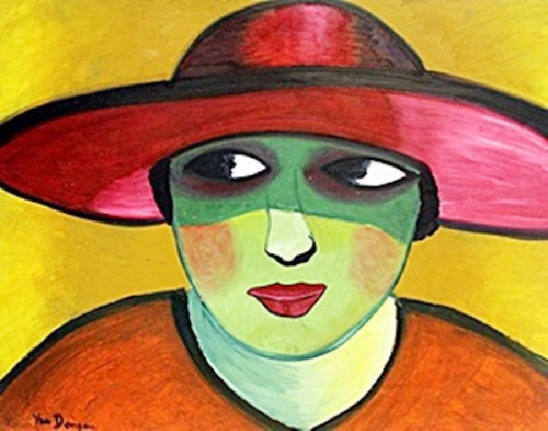 Woman with Hat 1908'  KeesVan Dongen