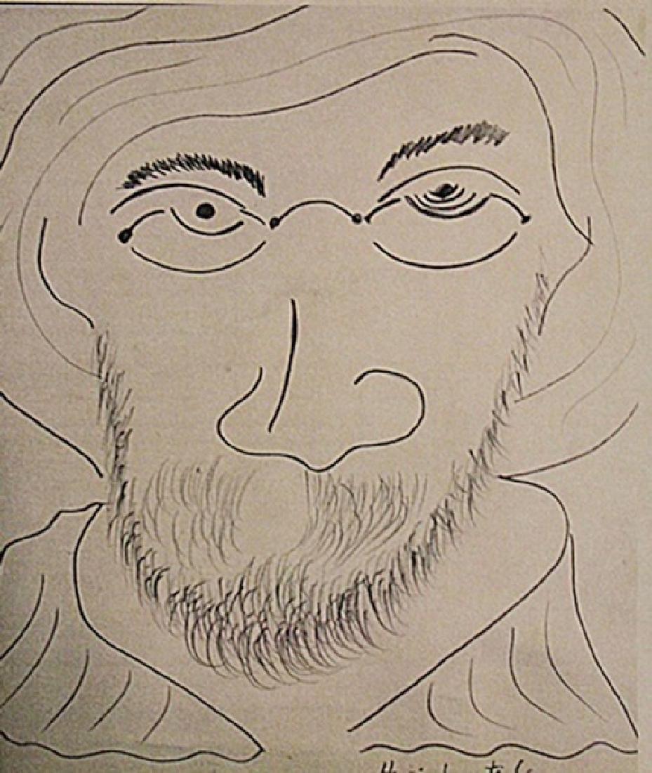 Henri Matise - Self Portrait