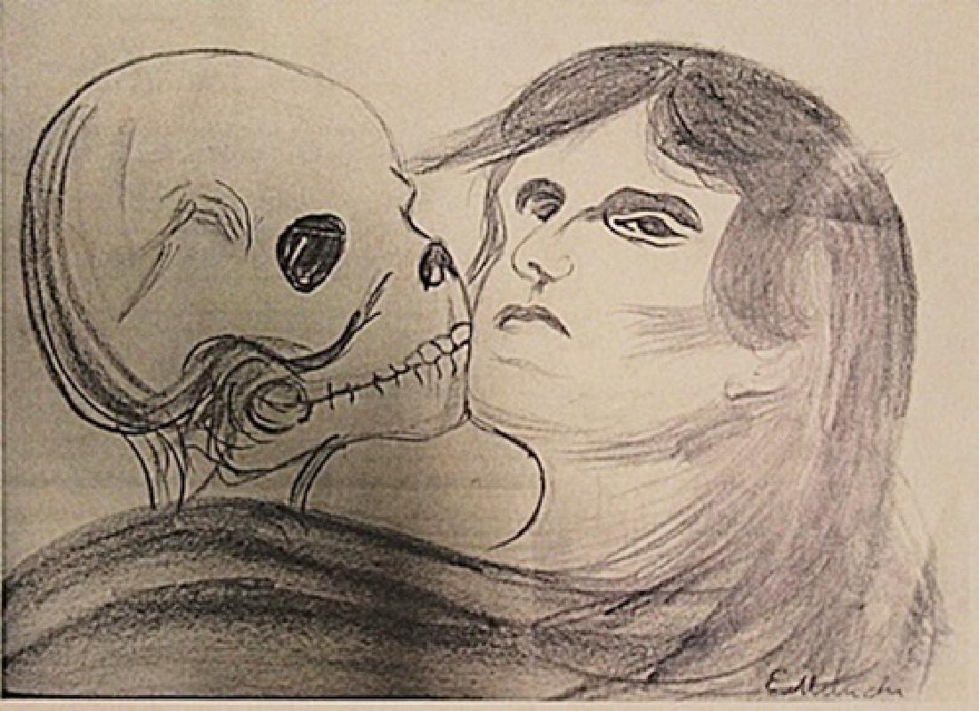 Edvard Munch - The Lovers