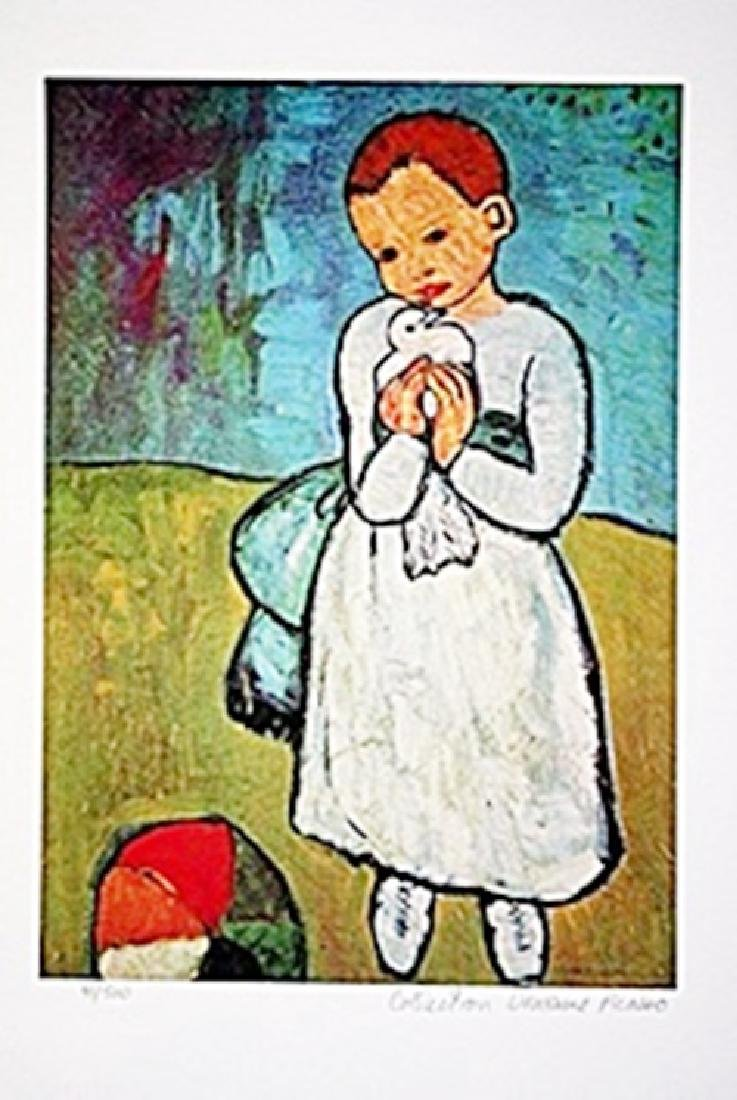 Picasso Limited Edition - Child With Dove - from