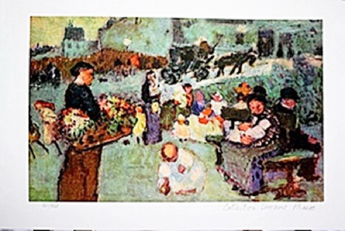 Picasso Limited Edition - The Flower Seller - from