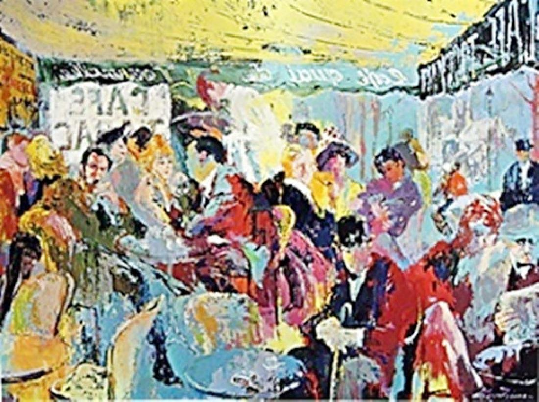 Paris Café - LeRoy Neiman