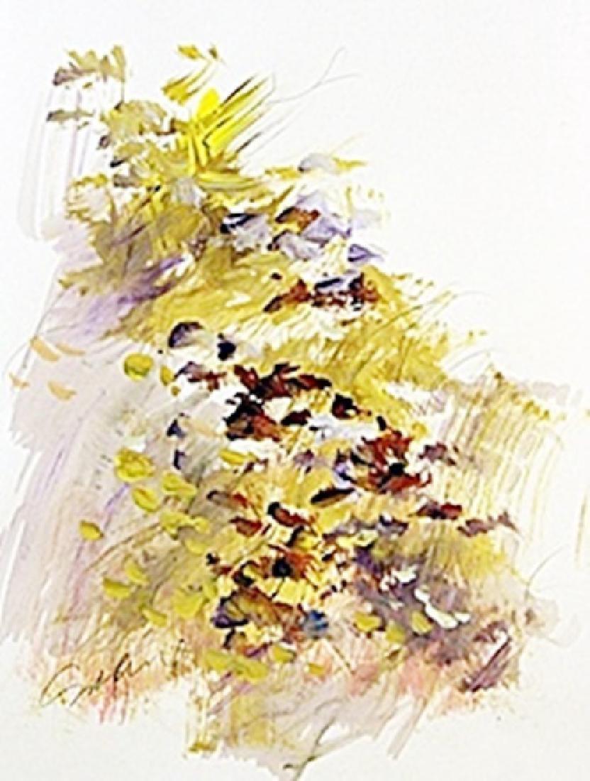 Original Water Color on Paper   Michael Schofield