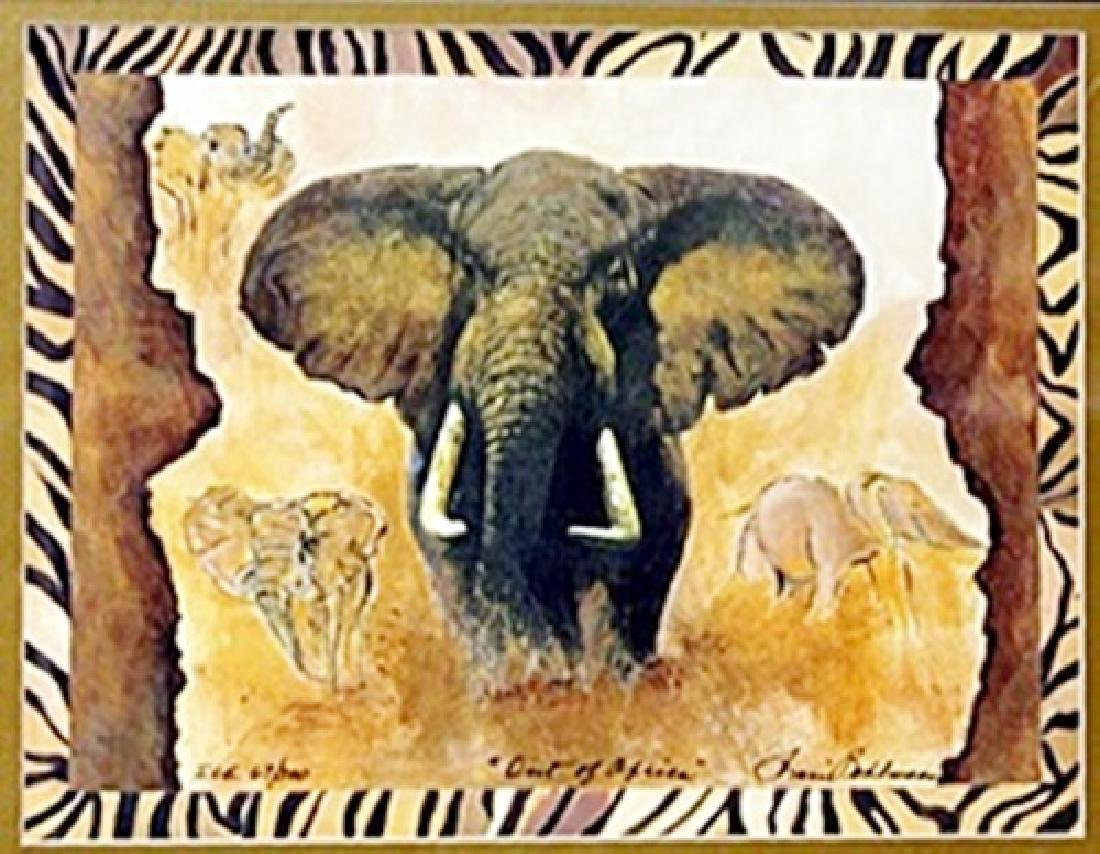"Print ""Out of Africa""  Sharie H. Bohlmann"