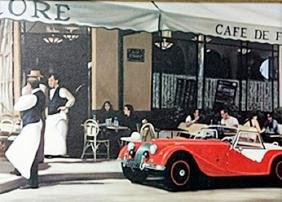 """Giclee """"The Red Car""""  Dale Kennington"""