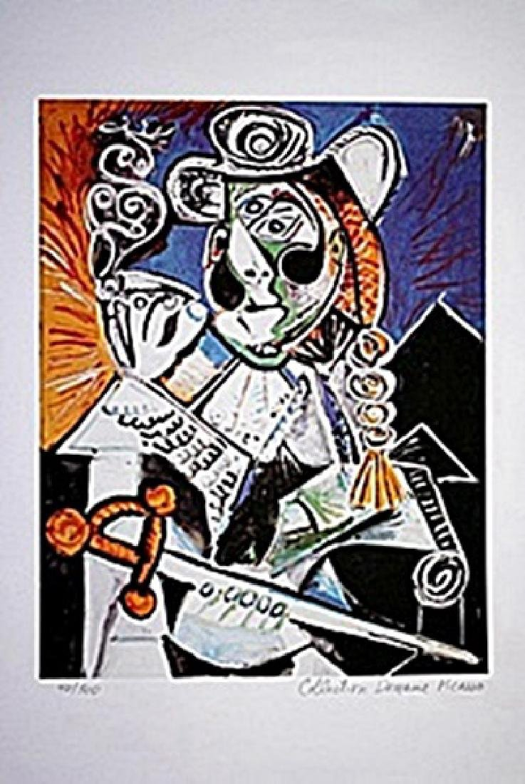Picasso Limited Edition - Cavalier With Pipe - from
