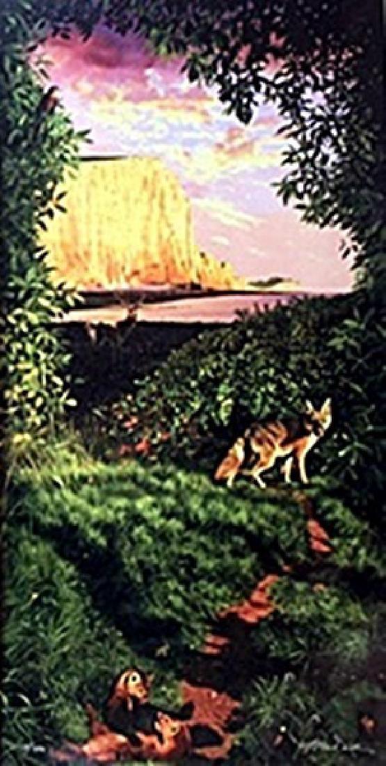 "Giclee ""Wildlife Paradise""  Charles Wildban K."