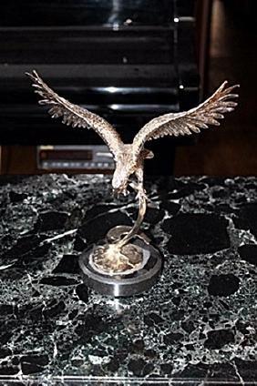 Beautiful Gold Eagle