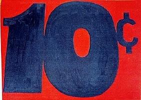 Roy Lichtenstein   - 10 cents