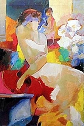 """Giclee """"Evening Gesture""""  Gholam Yunessi"""