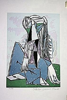Picasso Limited Edition - Portrait of Sylvette David -