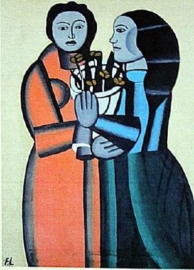 Fernand Leger - Two Womans