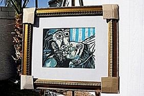 """Authentic """"The Kiss"""" - Picasso - Limited Edition"""