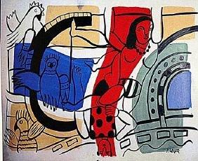 Fernand Leger - The Acrobats