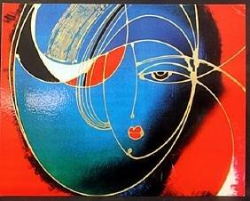 """Beautiful Prints """"Satin Nights"""", By Martiros Manoukian."""