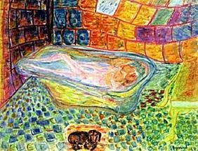 Woman in BathTub  Pierre Bonnard