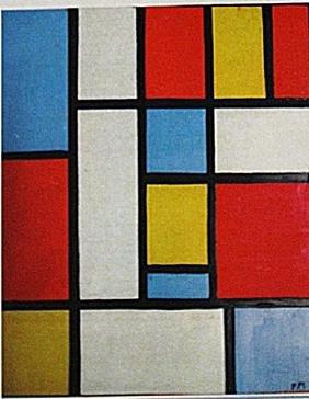 Piet Mondrian - Composition