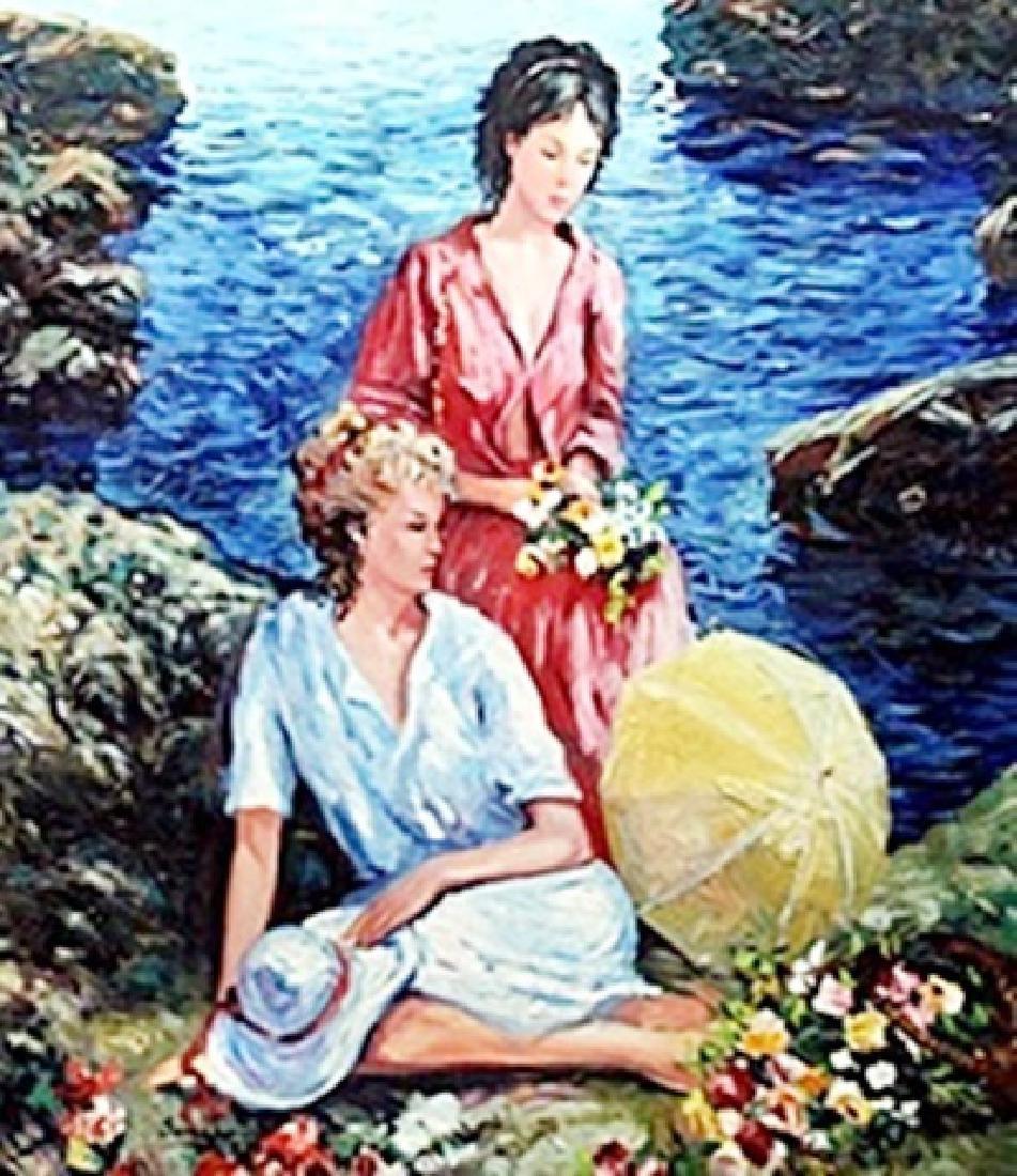 Oil on Canvas   Semeko