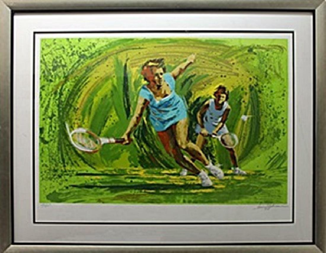 "Lithograph ""Tennis"" after Harry B."