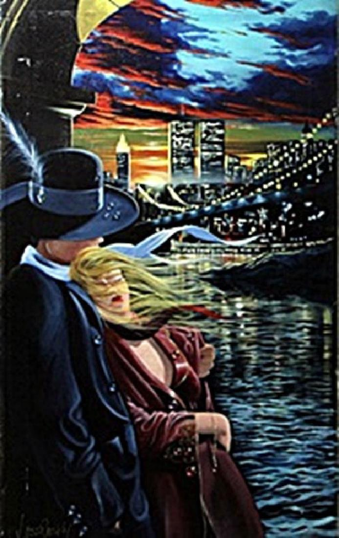 "authentic giclee ""Farewell"" after Victor Ostrovsky"