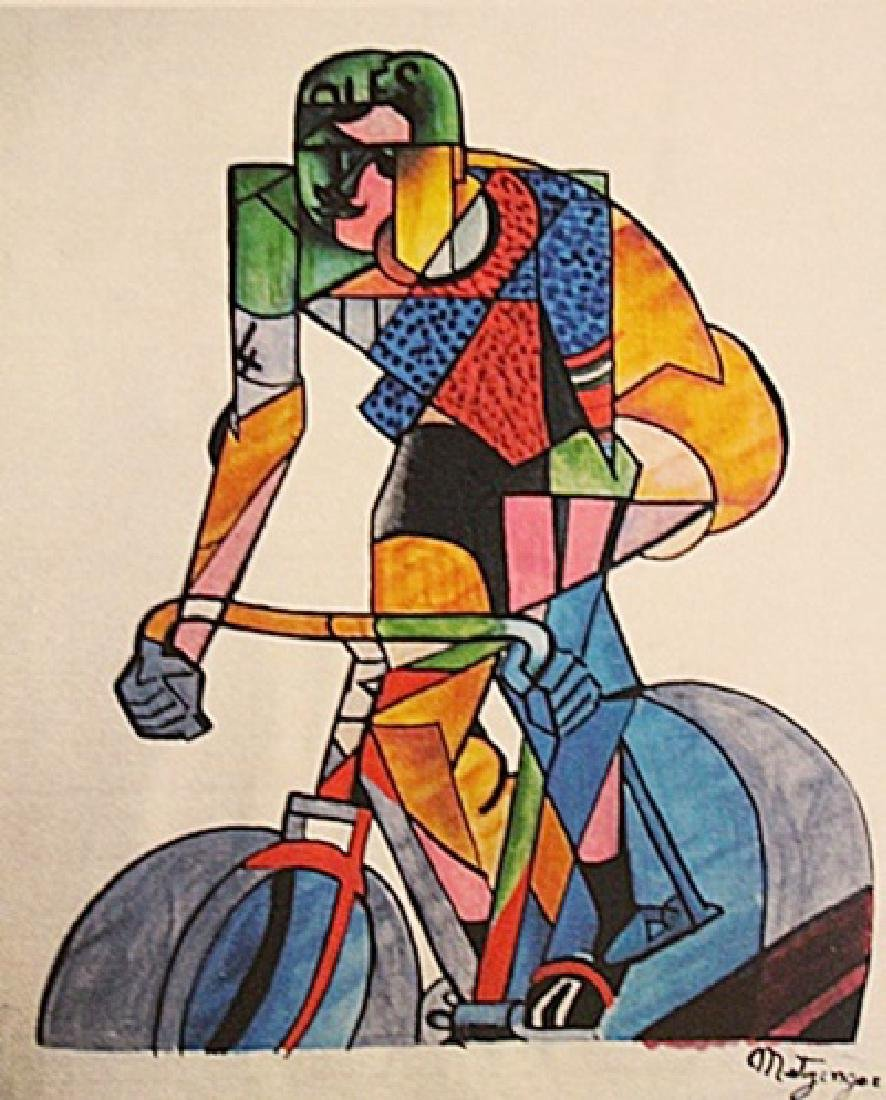 Jean Metzinger - Cycling