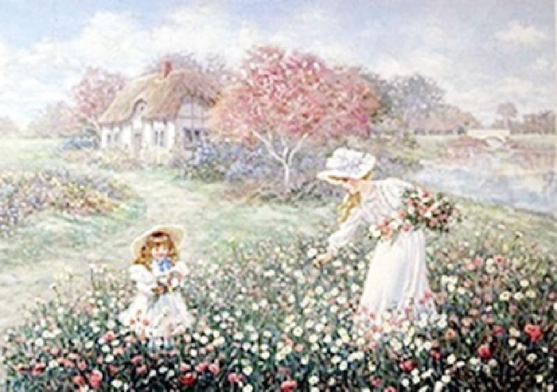 "Lithograph ""Rose Garden""  Lee Dubin"