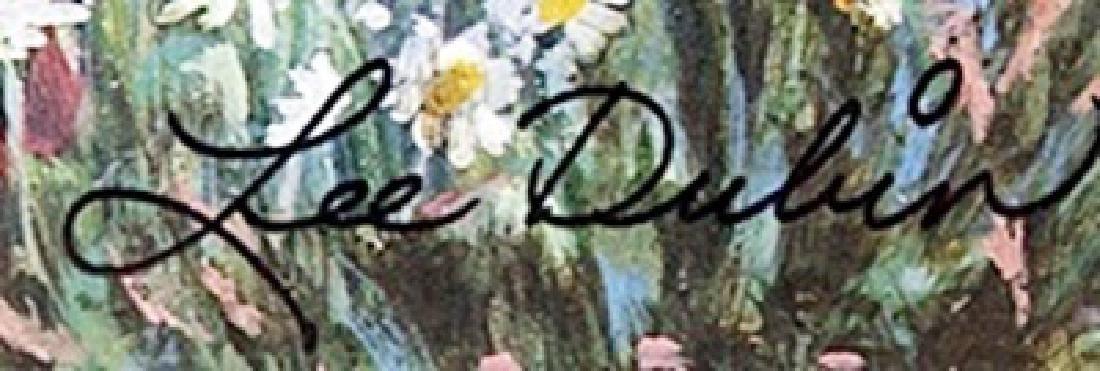 "Lithograph ""Rose Garden""  Lee Dubin - 2"